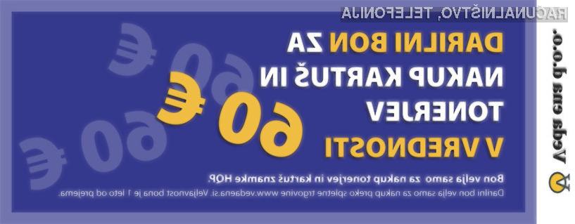 Kupon za nakup KARTUŠ in TONERJEV znamke HQP v vrednosti 60 €