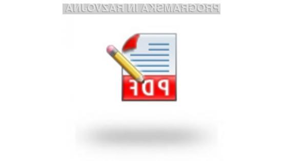 Programski dodatek Sun PDF Import Extension je kot nalašč za urejanje manjših dokumentov formata PDF.