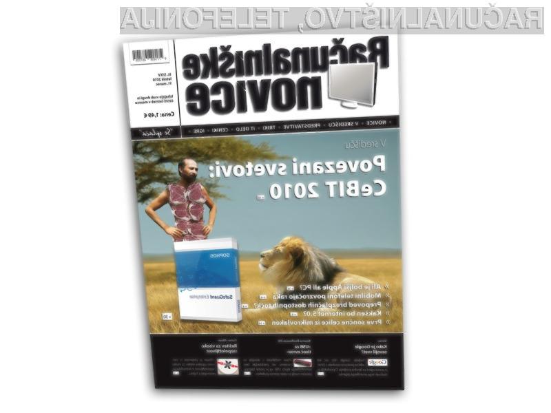 CeBIT je zopet ponudil najnovejše smernice IT razvoja in predstavil zanimive računalniške novosti.