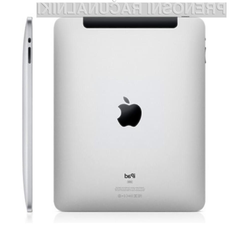 Je tablični računalnik Apple iPad ekološka bomba?