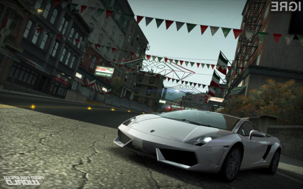 Nova dirkaška igra Need for Speed World vsaj zaenkrat obeta veliko!