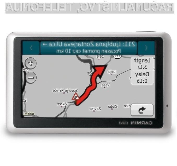 Garminove prometne informacije za Slovenijo so sila uporabna zadeva!