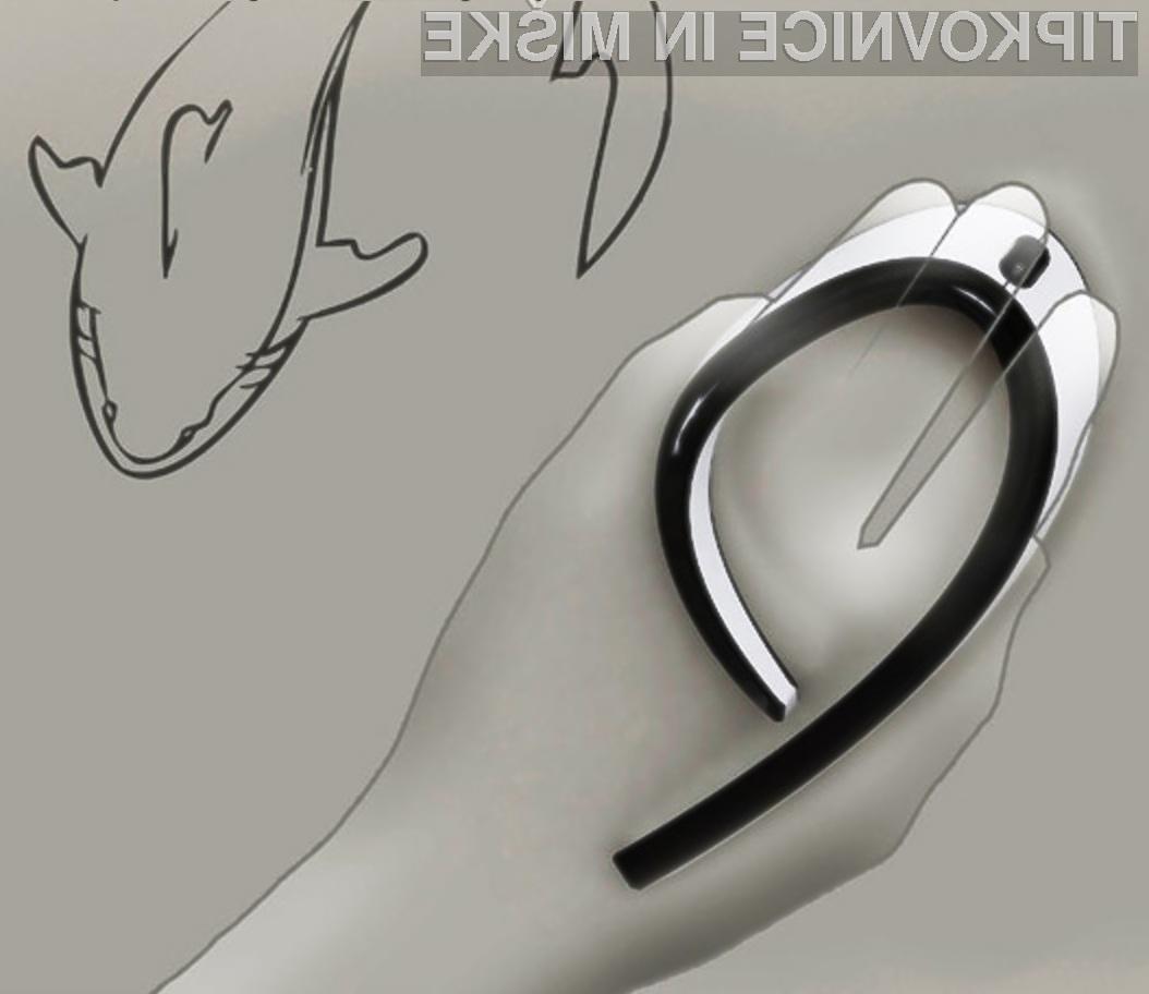 Vsestransko uporabna in oblikovno všečna računalniška miška Shark.