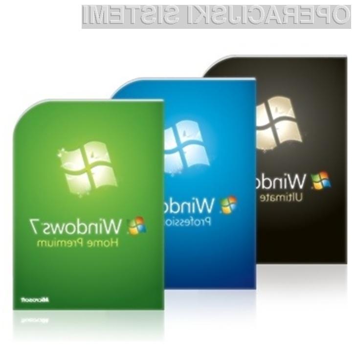 Operacijski sistem Windows 7 naj bi do konca leta vendarle dobil svoj prvi paket popravkov!