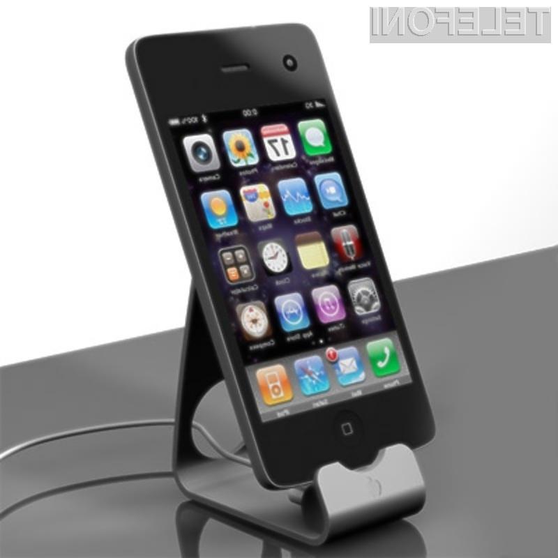 Novi mobilnik Apple iPhone 4G naj bi bil kot nalašč za prenos videovsebin visokih ločljivosti.