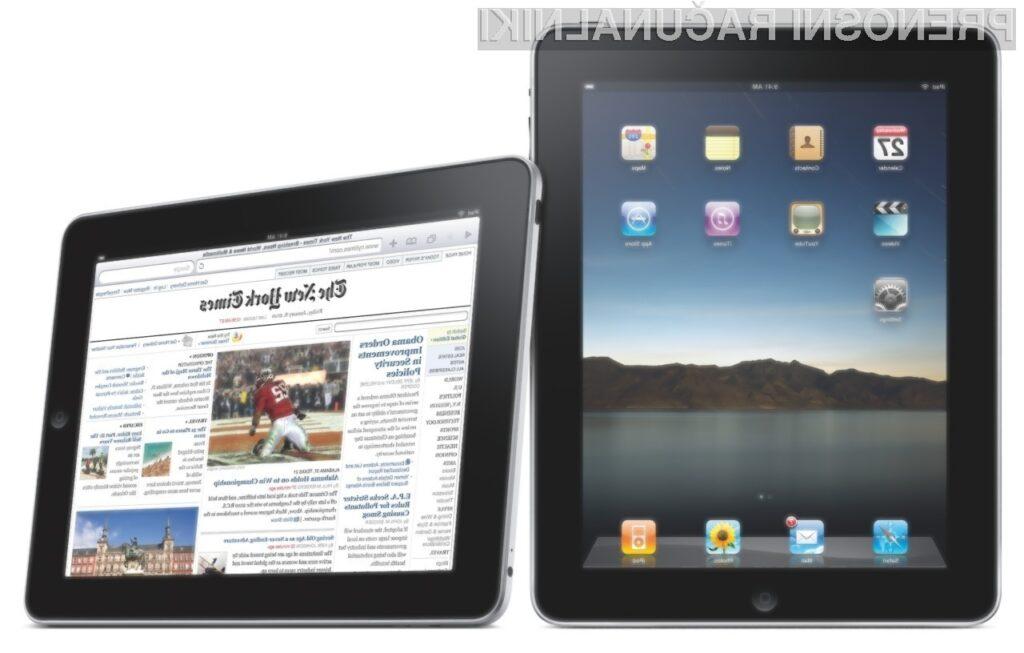 Na iPada v Evropi bo potrebno še nekoliko počakati.
