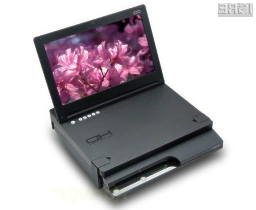 Igralna konzola Sony PlayStation 3 Slim je s pomočjo nastavka Hori HP3-87 postala povsem prenosna!