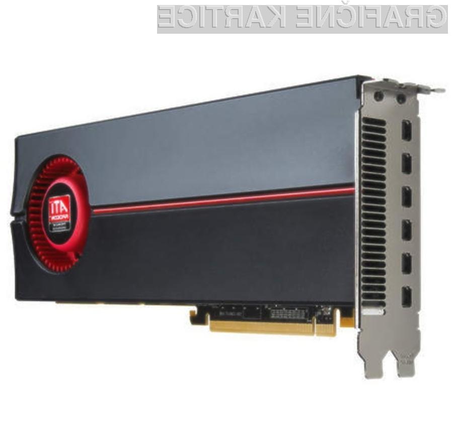 Grafična kartica AMD/ATI Radeon HD 5870 Eyefinity 6 Edition je kot nalašč za večzaslonsko delo!