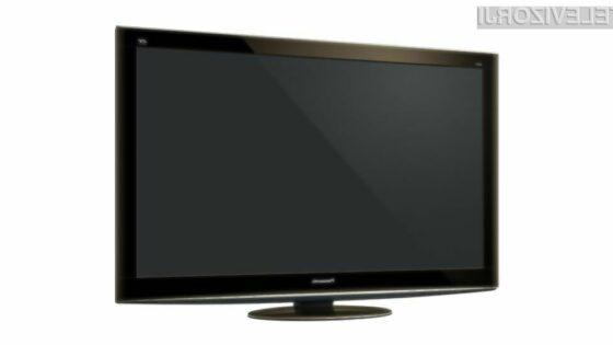 Panasonic TC-P50VT25 na sliki bo najmanjši izmed vseh prihajajočih 3D televizorjev podjetja Panasonic.