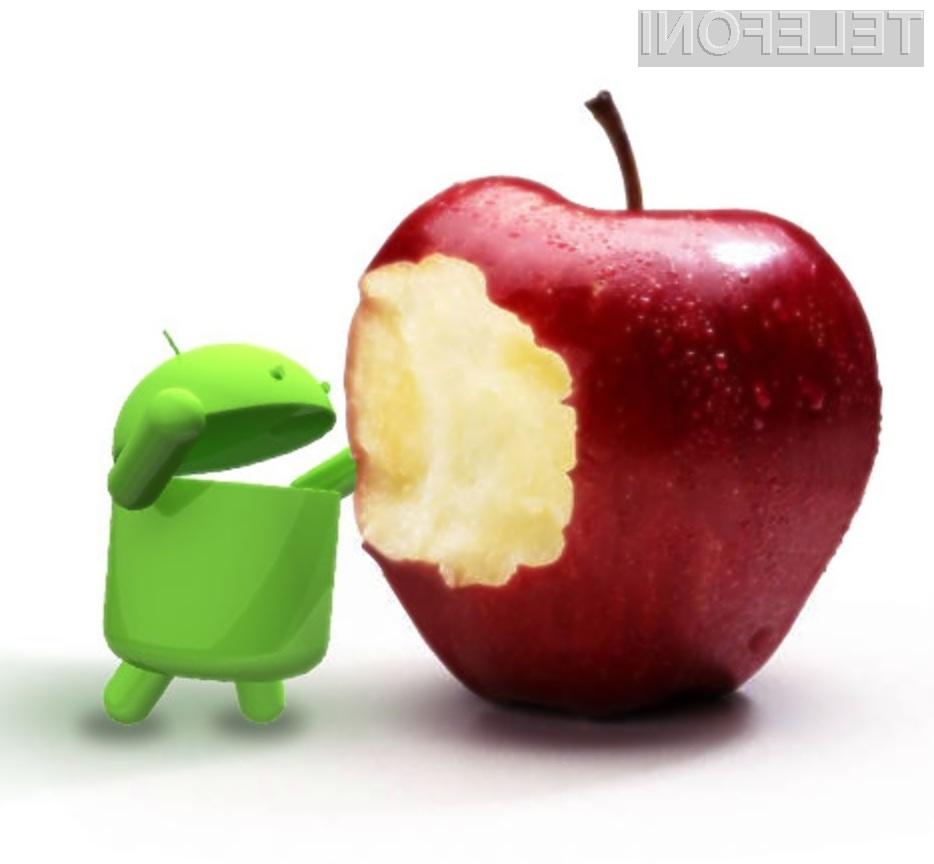 Mobilnemu operacijskemu sistemu Google Android zaupa vse več uporabnikov storitev mobilne telefonije!