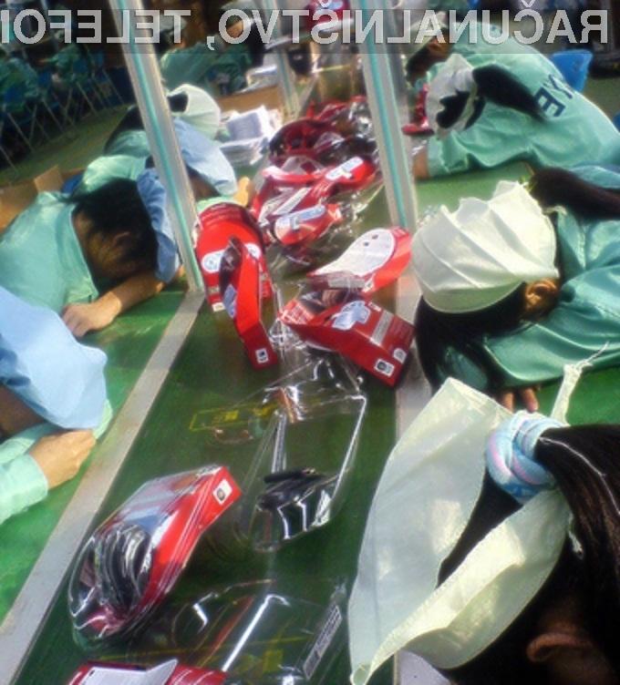 Z delavci kitajske tovarne KYE ravnajo kot s psi!