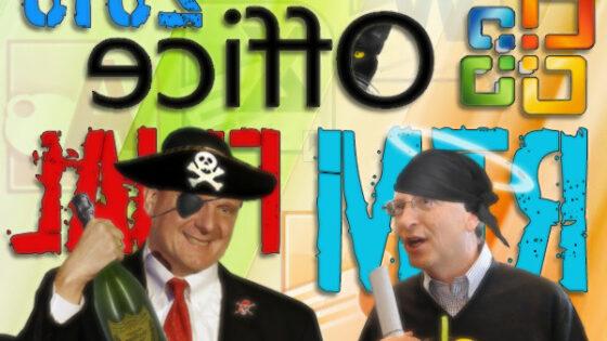 Dolge lovke piratstva sežejo povsod!