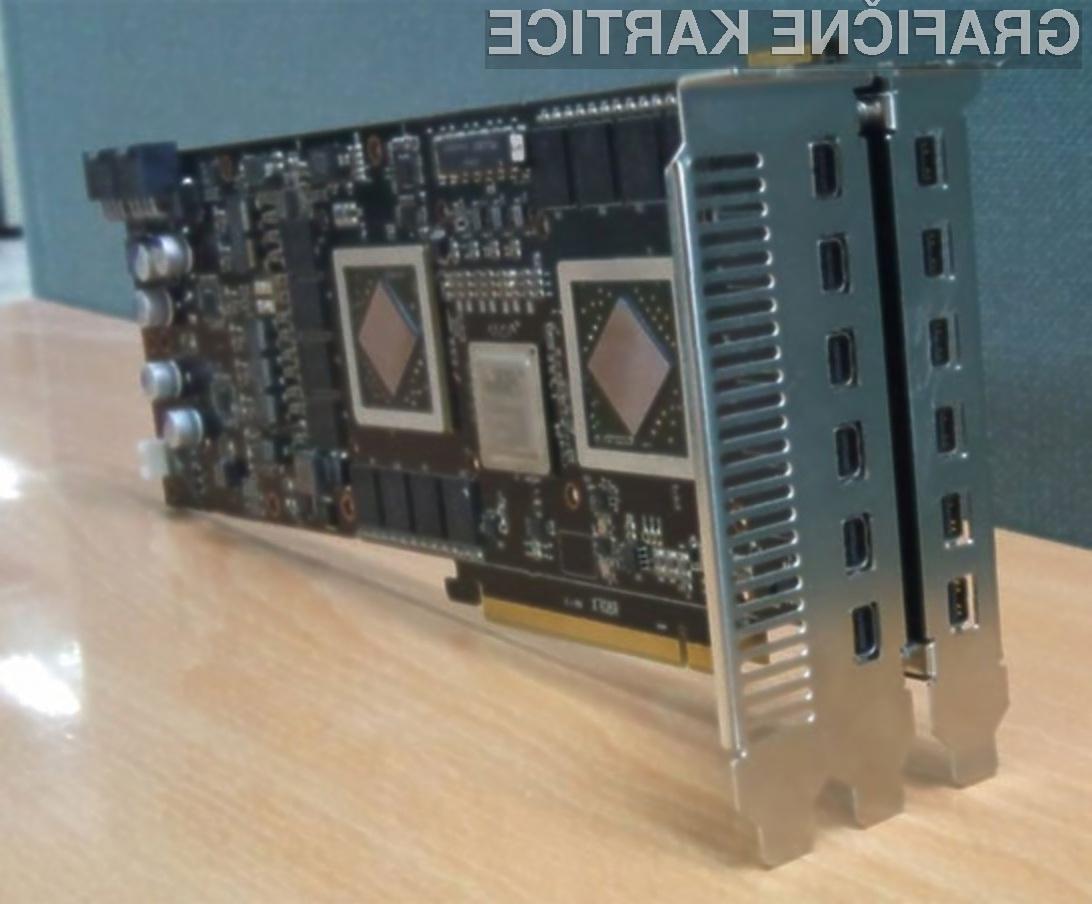 Grafična kartica Powercolor Radeon HD 5970 je »rojena« za večzaslonsko delo!