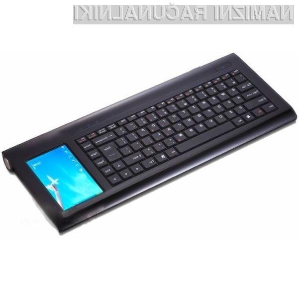 Nadvse zmogljiv osebni računalnik, zajet v ohišje komajda večje od tipkovnice.