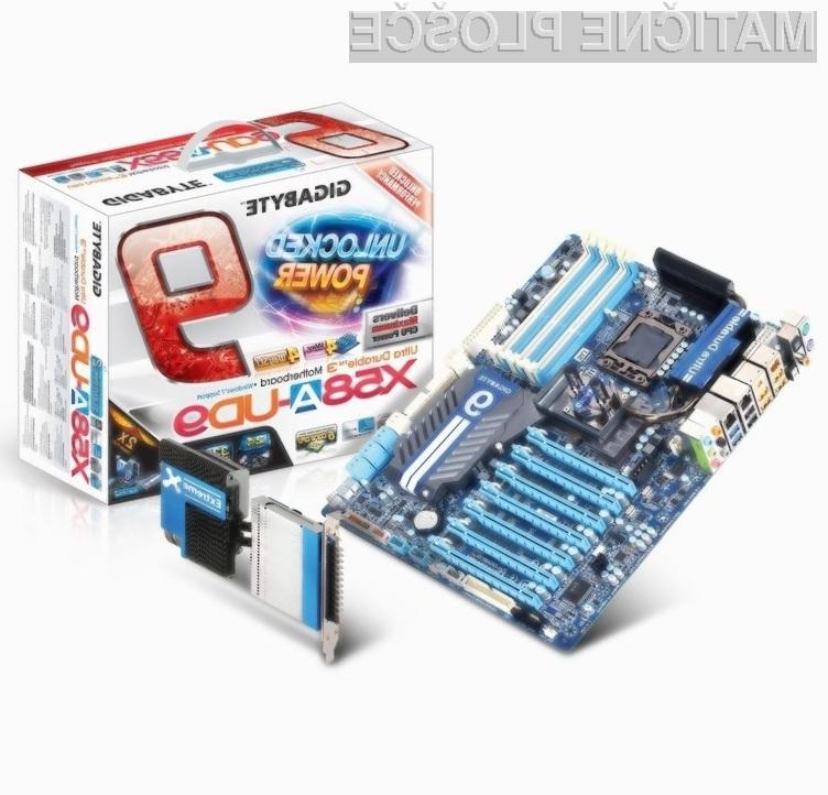 Gigabyte GA-X58A-UD9 je kot nalašč za pripravo sanjskega računalnika, namenjenega navijanju in igranju iger.
