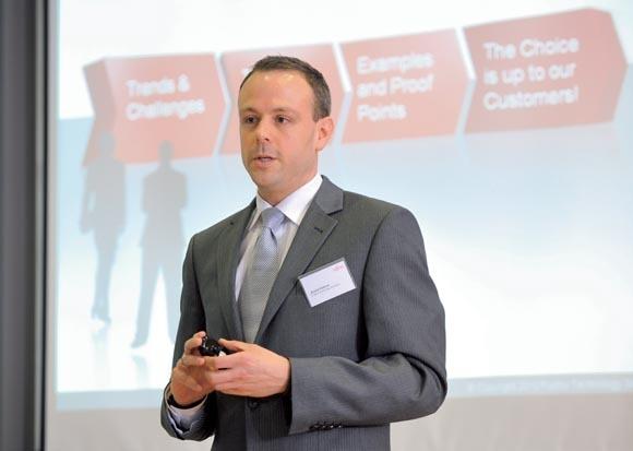 Andre Kiehne, podpredsednik storitev v regiji CEMEA&I