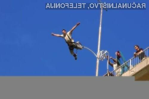 Bon za bungee jumping – IZKLICNA CENA 1 €!