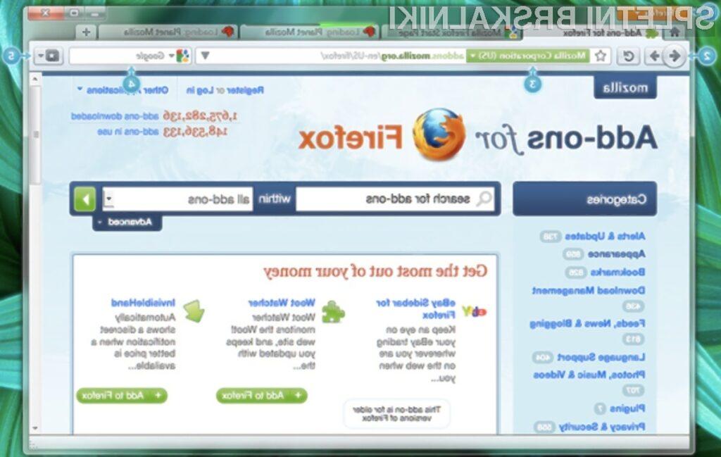 Brskalnik Firefox 4.0 bo prinesel korenite spremembe v primerjavi z njegovimi predhodniki.
