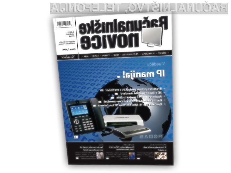 V središču je tokrat IP telefonija.