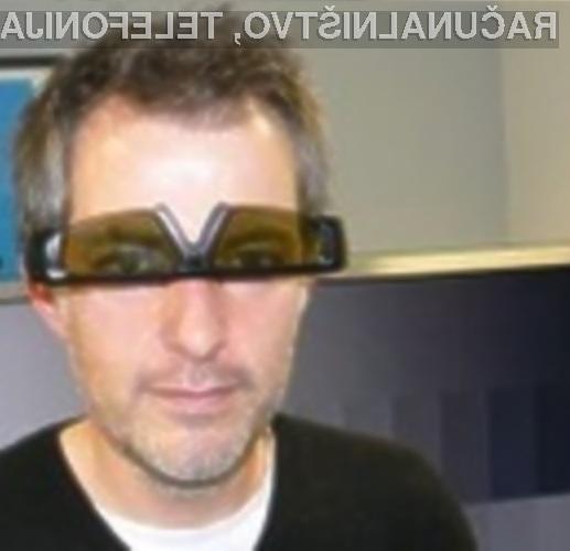 Nezdružljivost tridimenzionalnih očal s 3D televizorji odpravimo tako, da jih obrnemo na glavo.