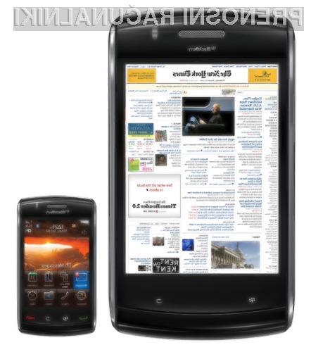 Glede na priljubljenost mobilnikov BlackBerry se ni za bati, da ne bi podobne usode doživel tudi tablični računalnik.