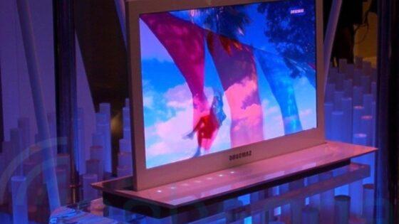 Novi Samsungov televizor naj bi zagotavljal izjemno kakovost prikaza slik in filmskih posnetkov.