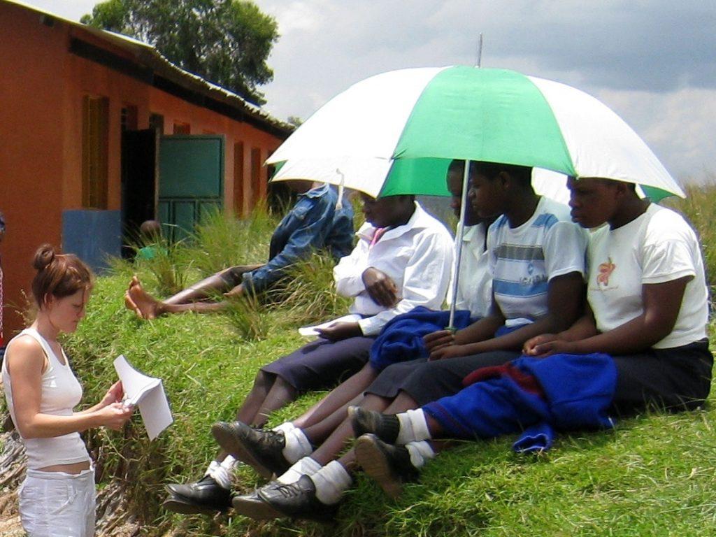 Pred ambulanto v Ugandi