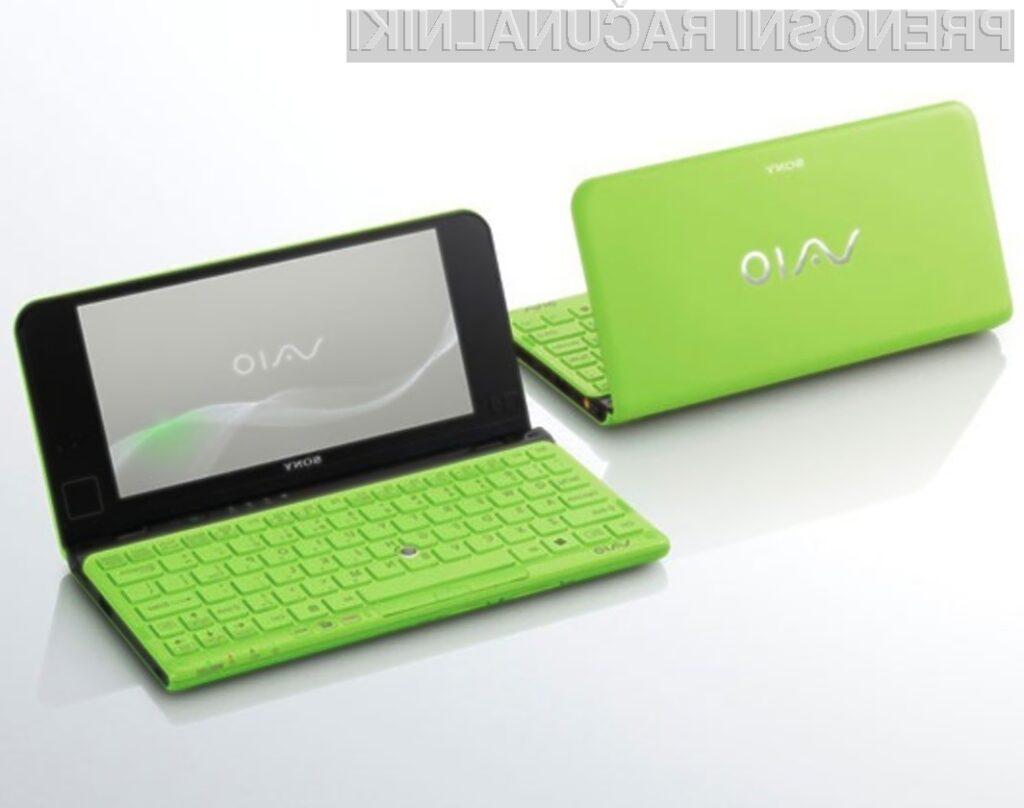 Prenovljene žepne računalnike Sony Vaio P odlikujejo vrhunski dizajn, prenosljivost in dobra vrednost.