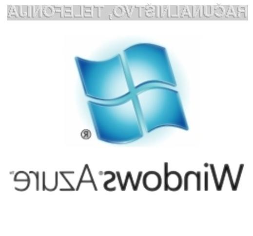 Na poti v oblake z Windows Azure