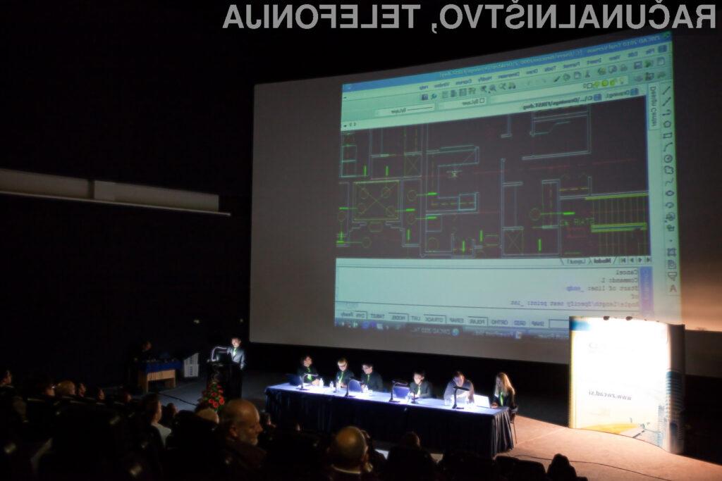 Prva velika ZwCAD predstavitev v Evropi - v Sloveniji!