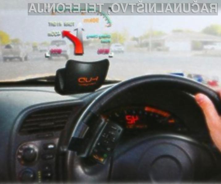 Avtomobilski navigacijski sistem GPS nekoliko drugače