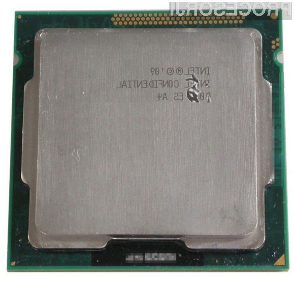 Prvi procesorji Intel Sandy Bridge bodo na trg prispeli v prvi polovici naslednjega leta.
