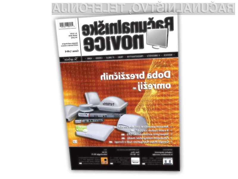Doba brezžičnih omrežij: RN 12XV