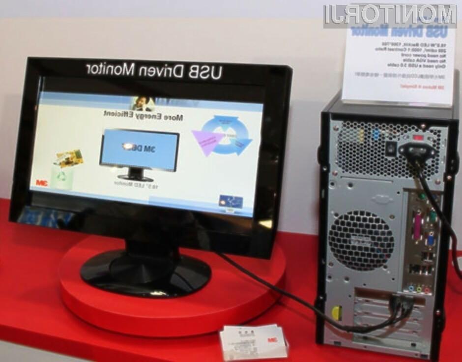 Novi zaslon podjetja 3M pri polni obremenitvi porabi zgolj osem vatov električne moči!