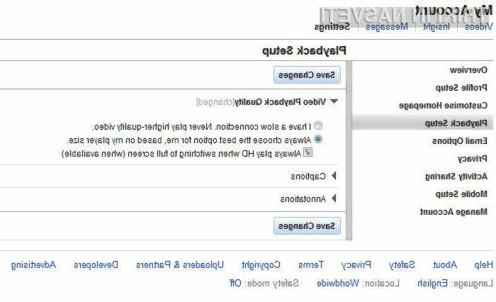 Do predvajanja video posnetkov v HD sliki vas loči le nekaj klikov.