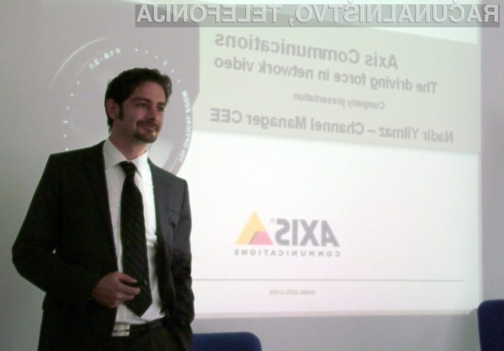 Z izdelki podjetja Axis je vse pod nadzorom!