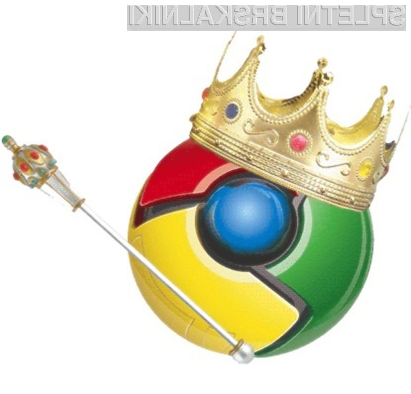 Spletni deskarji vse bolj prisegajo na Googlov spletni brskalnik Chrome.
