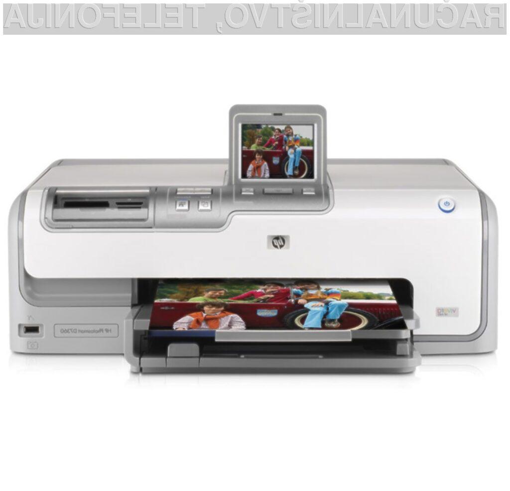 Novi tiskalniki podjetja HP bodo pisani na kožo predvsem uporabnikom spletnih pisarniških paketov.