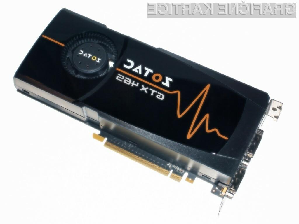 Grafična kartica Nvidia GeForce GTX 465 je pisana na kožo igričarjem s plitkejšimi žepi.