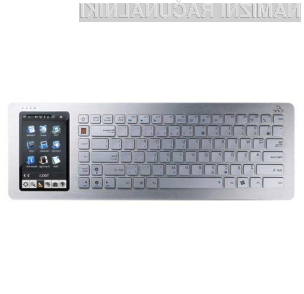 Po kompaktni osebni računalnik Asus Eee Keyboard se bo vsaj zaenkrat potrebno odpraviti v Italijo.