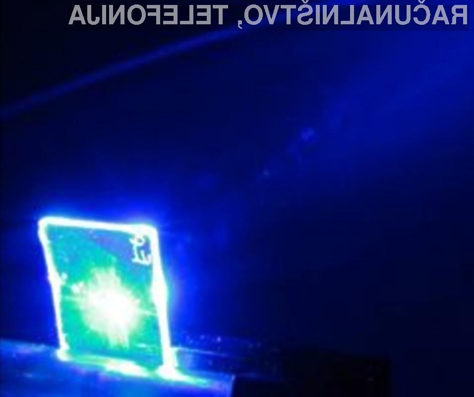 Tihotapljenje eksploziva bo otežil namenski laser.