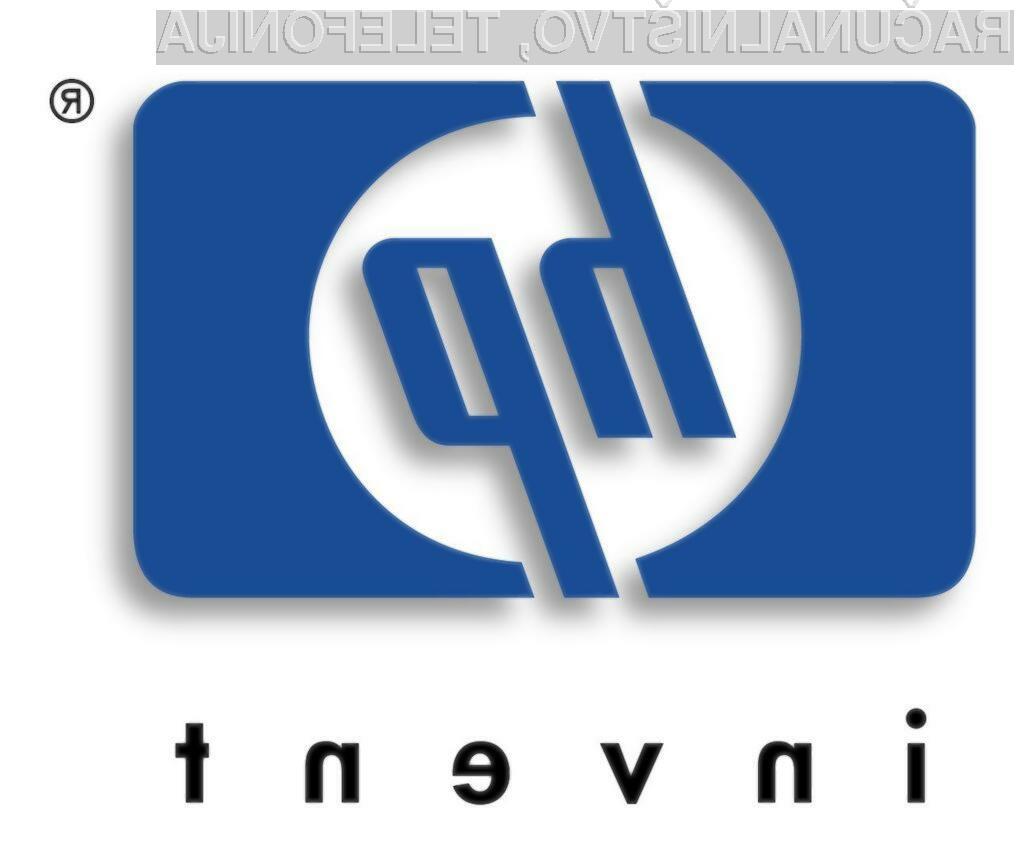 Hewlett-Packard preži za dobrimi podjetji.