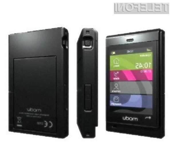 Mobilnik Modu T-Phone naj bi ponujal samo tiste funkcije, ki jih pri delu resnično potrebujemo.