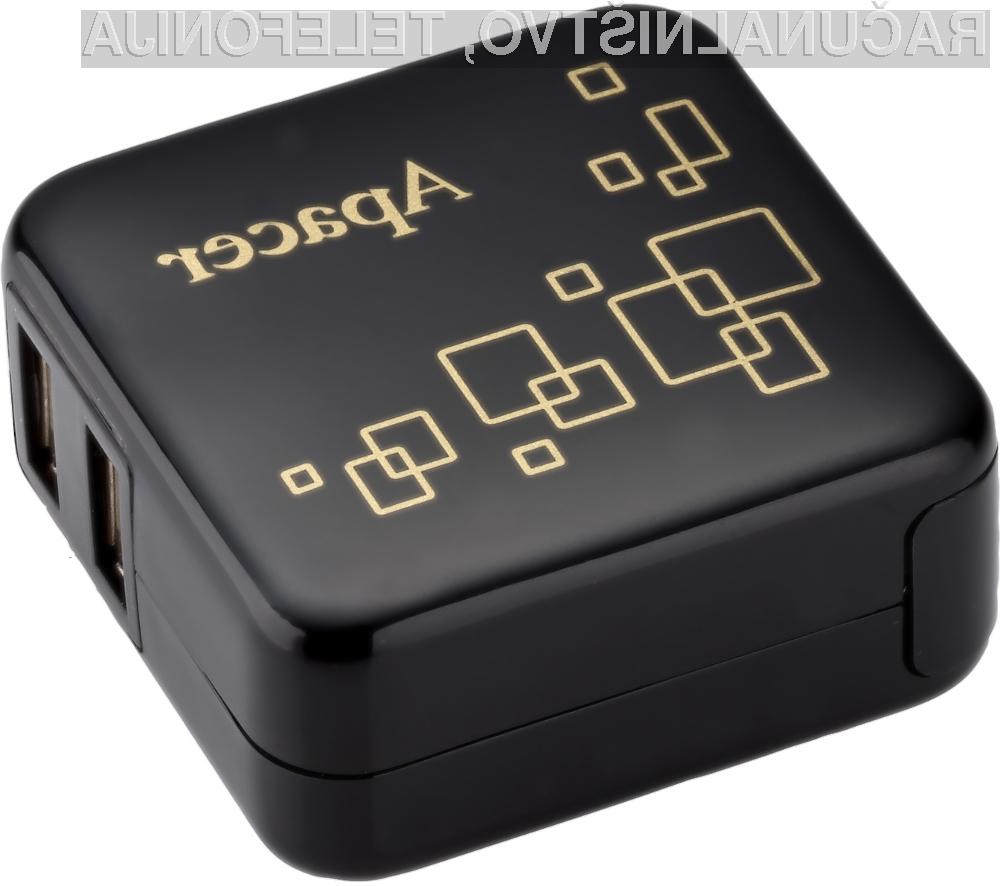 Dodatna moč za izpraznjene baterije prenosnih naprav.