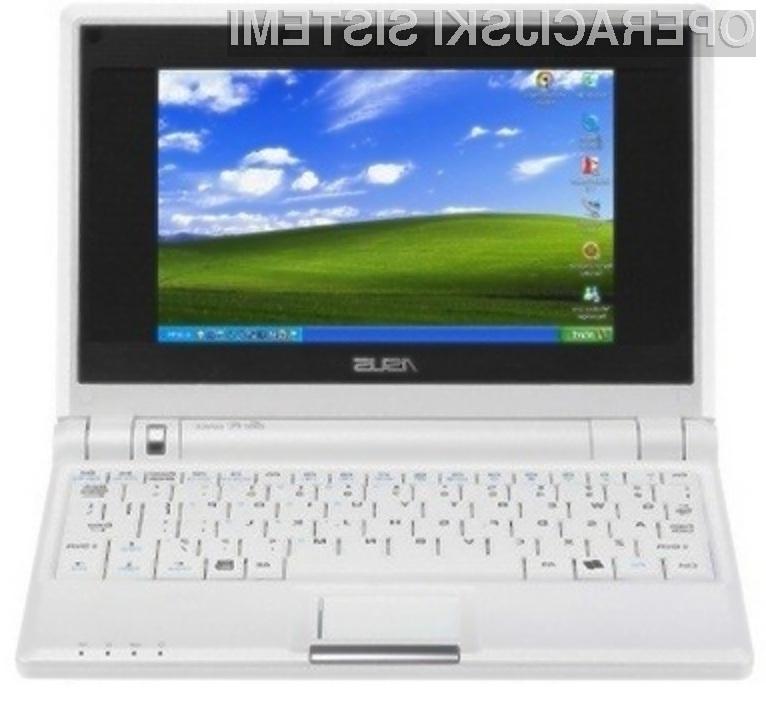 Žepni računalniki bodo z operacijskim sistemom Windows XP opremljeni le še do 22. oktobra letos.
