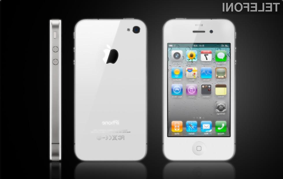 Na belega iPhona 4 bo potrebno še precej čakati.