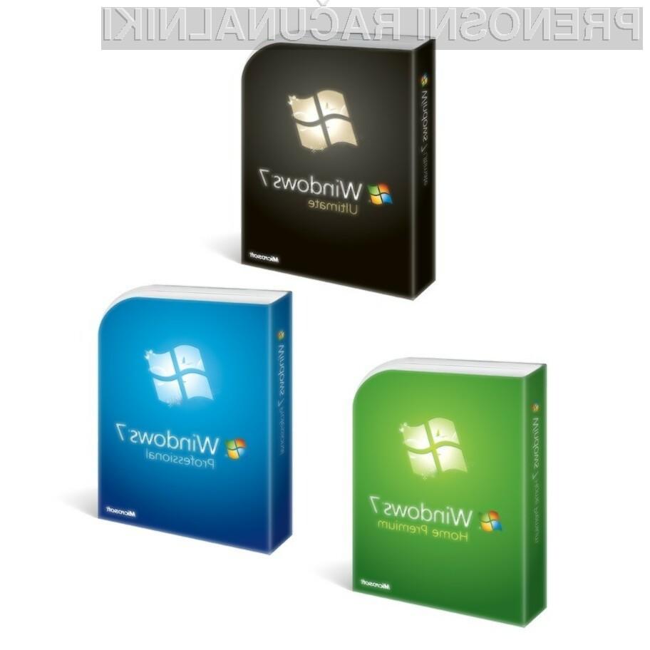 Operacijski sistem Windows 7 se seli tudi na tablične računalnike.