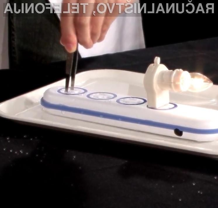 Ali bi preizkusil »odpornost« vodotesnega električnega razdelilca podjetja Wet Circuit na lastni koži?