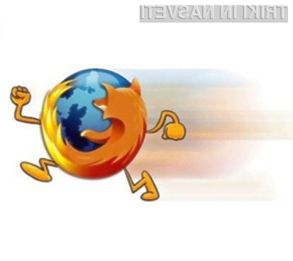 Hitrost delovanja spletnega brskalnika Mozilla Firefox se da izboljšati na sila enostaven način!