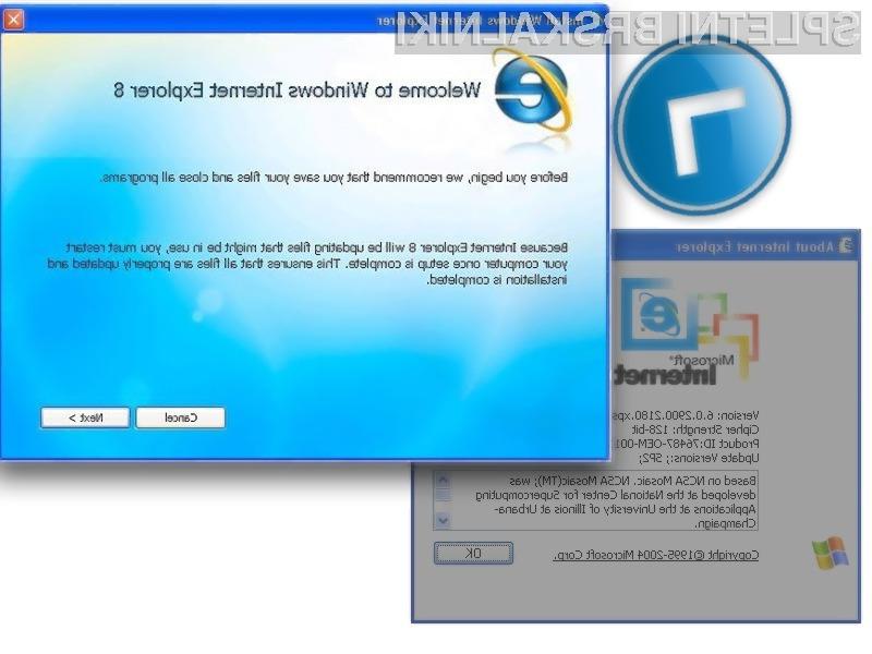 Ukinjamo podporo za Internet Explorer 6
